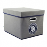 San Diego Padres Fabric Storage Box with Lid